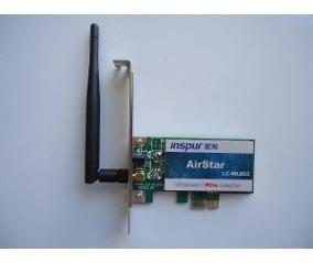 Tarjeta De Red Wifi Pci Con Antena