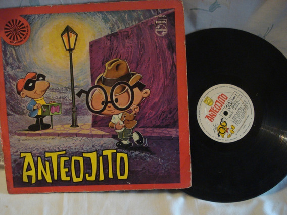 Antiguo Disco Vinilo Lp De Anteojito Garcia Ferre Del 70