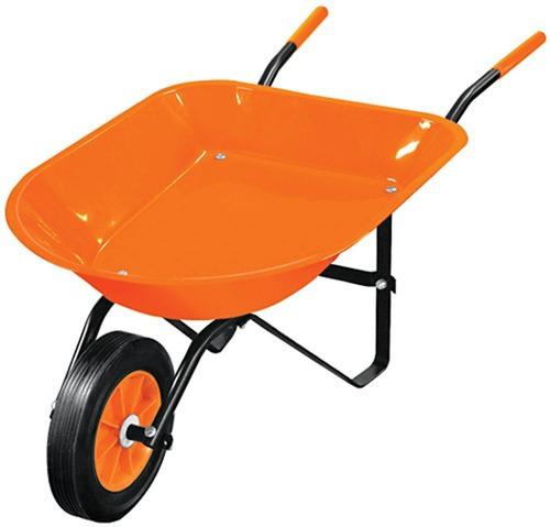 Carretilla Infantil Para Niño 88x41cm Color Naranja Truper