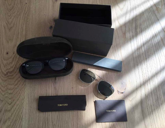 Óculos De Grau Tom Ford Com Clip On - Pronta Entrega