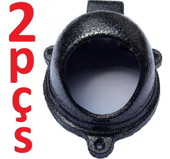 Kit 2 Protetores De Câmera Dome Alumínio Fundido Nº4 Oferta!