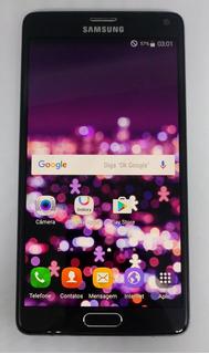 Samsung N910c Galaxy Note 4 32gb Preto Original Vitrine