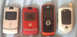 Lote Celulares Motorola V3, W230 E I876w