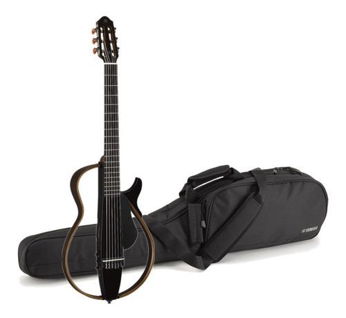 Imagen 1 de 3 de Yamaha Guitarra Silent Slg200n Negro Cuerdas Nylon Efectos