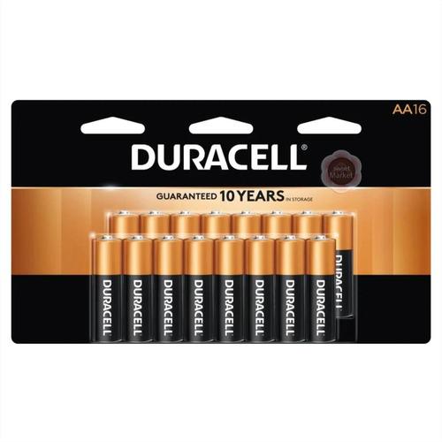 Pilas Duracell Aa X16 Unidades - Oferta En Sweet Market