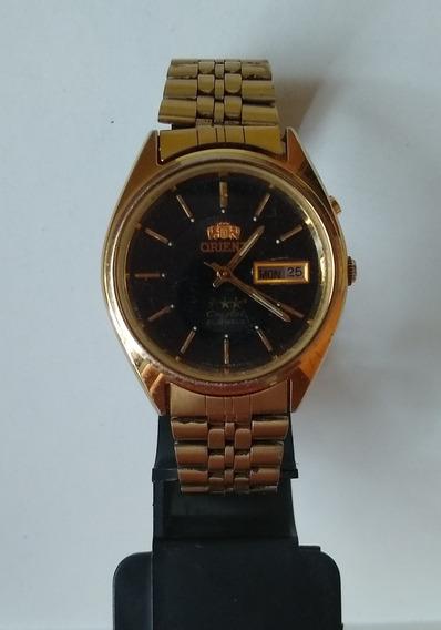 Relógio Masculino Orient 3 Estrelas Crystalke 469wc2-80ca