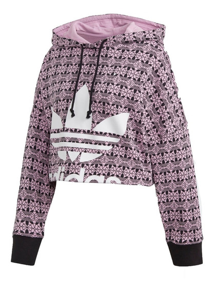 adidas Originals Buzo C/cap Lifestyle Mujer Aop Hoodie Fkr