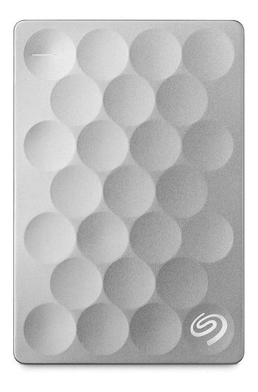 Disco rígido externo Seagate Backup Plus Ultra Slim STEH2000100 2TB prata