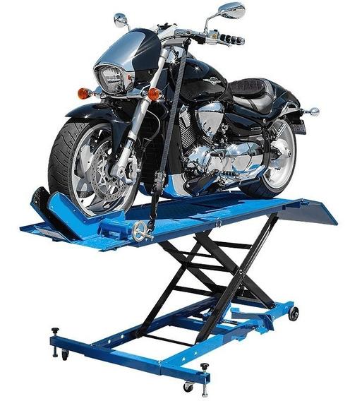 Elevador Para Moto C/ Rodas Capacidade Até 450kg Bremen 6147