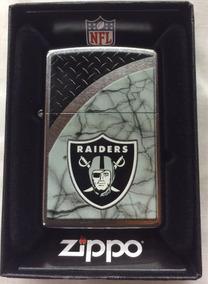 Zippo Raiders Nfl Nuevo Original!