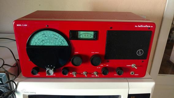 Lindo Rádio The Hallicrafters Co ( Model S-40a)