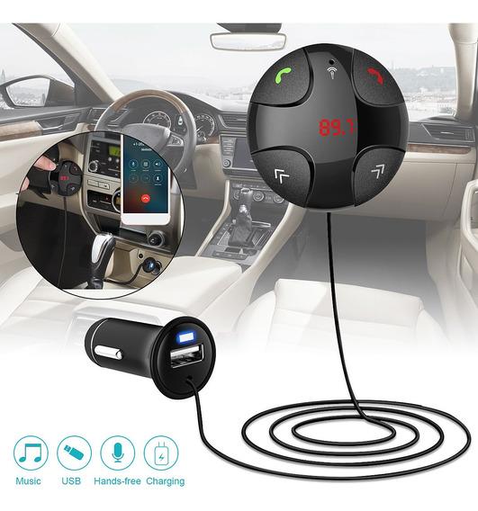 Fm29b Handsfree Sem Fio Bluetooth V3.0 Fm Transmissor Mp3 Ca