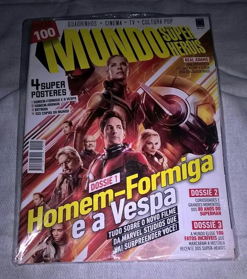 Revista Mundo Dos Super-heróis N° 100 Editora Europa