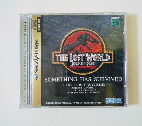 The Lost World Jurassic Park (original Japonês) Sega Saturn
