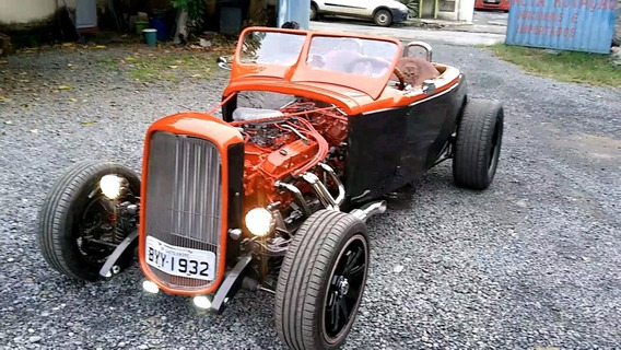 Hot Rod Conversível, Ford 32 V8