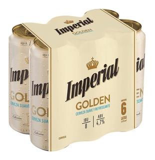 Cerveza Imperial Golden 473 Ml X6 Unidades - Perez Tienda -