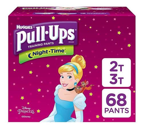 Imagen 1 de 8 de Pull-ups Night-time, 2t-3t (18-34 Lb.), 68 Ct, Pantalones De