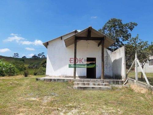 Imagem 1 de 5 de Chácara Com 2 Dormitórios À Venda, 1000 M² Por R$ 170.000,00 - Caçapava Velha - Caçapava/sp - Ch0804