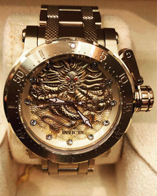 Relógio Invicta Forces Dragon 26511 Automatic Banhado A Ouro