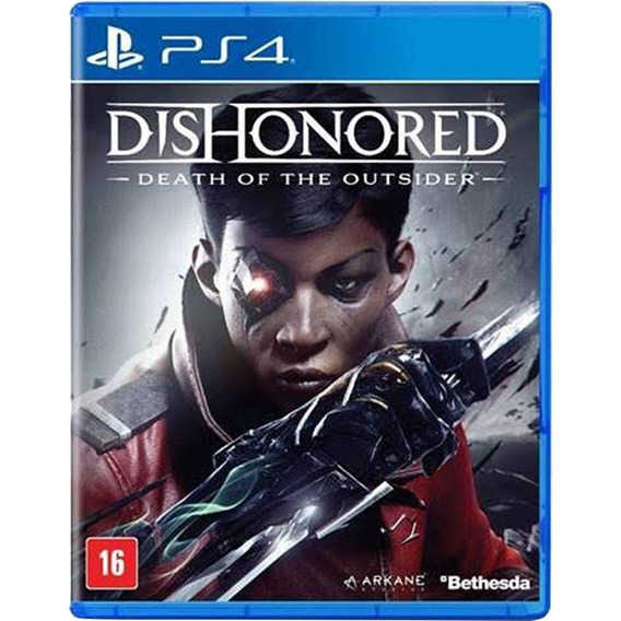 Dishonored Death Of The Outsider Ps4 M.física Novo Lacrado