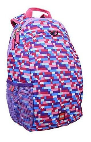 Mochila Lego Brick Pink / Purple Heritage Basic, Multi, Tall
