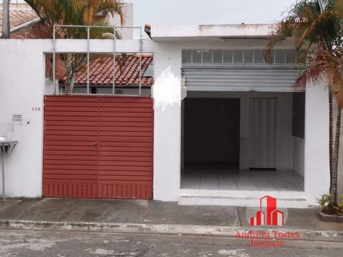 Casa Padrão Com Ponto Comercial  Taubaté/sp - 1029