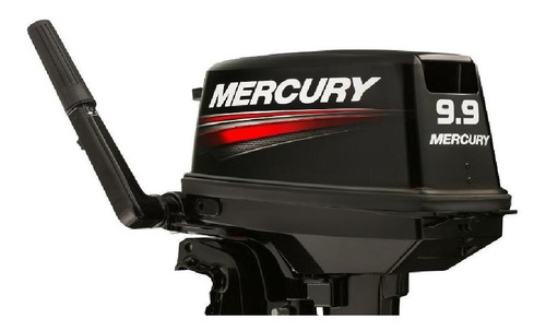 Imagen 1 de 14 de Motor Mercury 9.9 Hp Fuera Borda Pata Corta 2 Tiempos Garant
