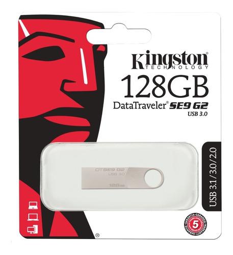 Flash Memory 128gb Kingston Dtse9 G2 Usb 3.0 Pendrive