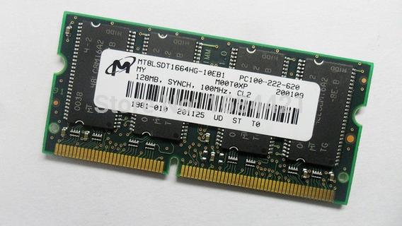 Memória Ram 128 Mb - Pc-100 - Sdram - Funcionando