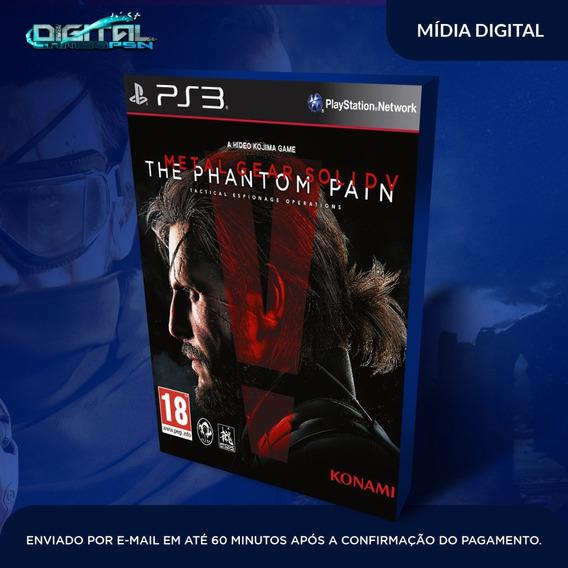 Metal Gear Solid V The Phantom Ps3 Envio Agora.