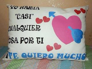 Almohadas Personalizadas,pintadas A Mano.