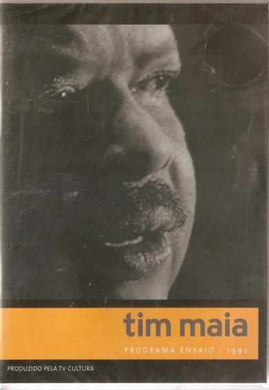 Dvd Tim Maia - Programa Ensaio 1992 Tv Cultura - Novo***