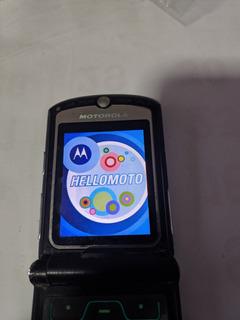 Celular Motorola V3, Disponível Nas Cor Preto