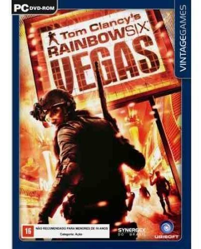 Game Pc Rainbow Six Vegas 1 Raridade Novo Lacrado