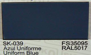 Sicko Acrilicos Sk039 Azul Uniforme Uniform Blue Fs35095