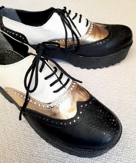 Zapatos Acordonados Talle 36 - No Sarkany, Bendito Pie