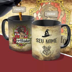 Caneca Magica Harry Potter Casas De Hogwarts Oportunidade