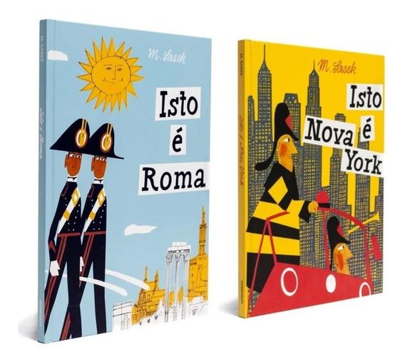 Coleção Isto É Roma & Nova York Cosac & Naify + Frete Grátis