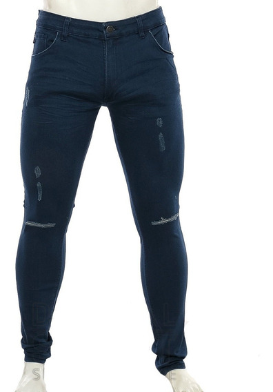 Pantalon Jean Rusty Frankys Blue Elastizado Hombre Rusty