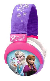 Fone De Ouvido Headphone Frozen Plush