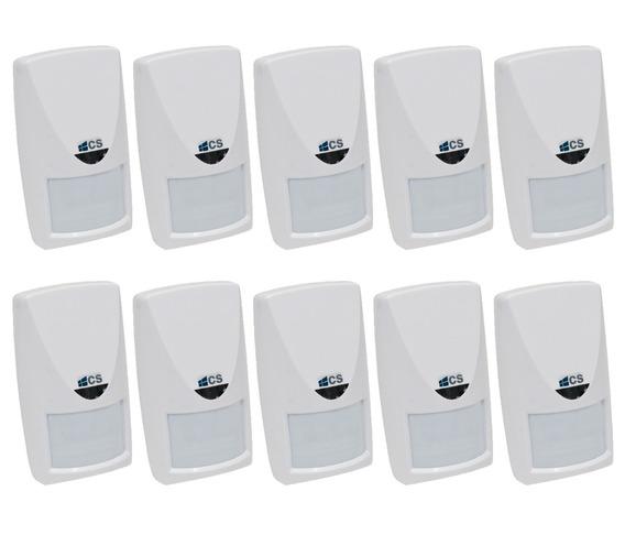 Kit 10 Sensor Infravermellho Microondas Pet Área Semi Aberta