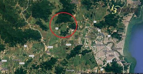 Terreno Com Frente De 357m Para Br 470 Distante 8km Da Br101 Em Itajaí, Sc - Te0007