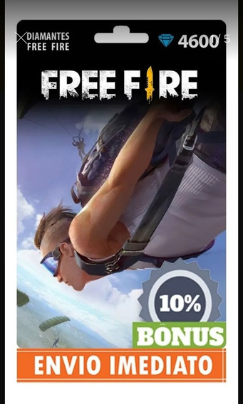 Garena Free Fire 5060 Diamantes - Recarga Para Conta No Jogo