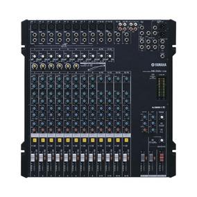 Mesa Som Yamaha Mg166 C/ Usb Na Caixa