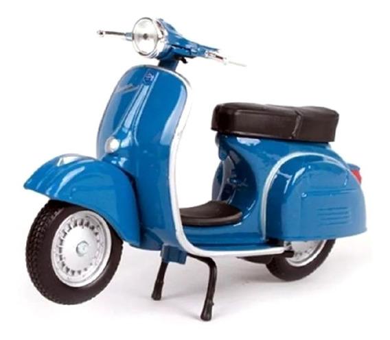 Miniatura Vespa Sprint Veloce 1969 Azul Maisto 1/18