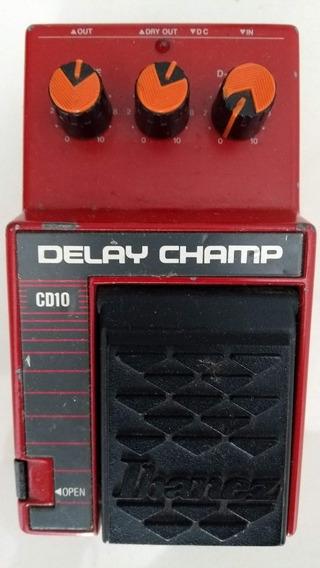 Pedal Analógico Ibanez Delay Champ Cd10 (similar A Boss Dm2)