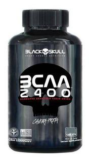Bcaa 2400 400 Tabletes - Black Skull