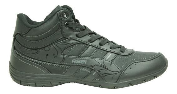 Zapatos Deportivos Para Niñas Rs Lara Boot Negro