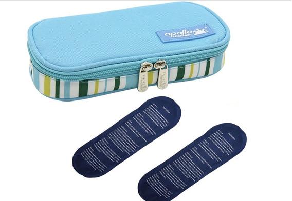 Estuche Hielera Protector Insulina 20 X 9 X 4cm Apollo Blue
