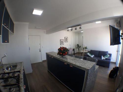Apartamento Em Moema Pássaros, São Paulo/sp De 62m² 1 Quartos À Venda Por R$ 640.000,00 - Ap742934